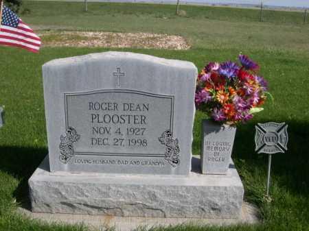 PLOOSTER, ROGER DEAN - Dawes County, Nebraska   ROGER DEAN PLOOSTER - Nebraska Gravestone Photos