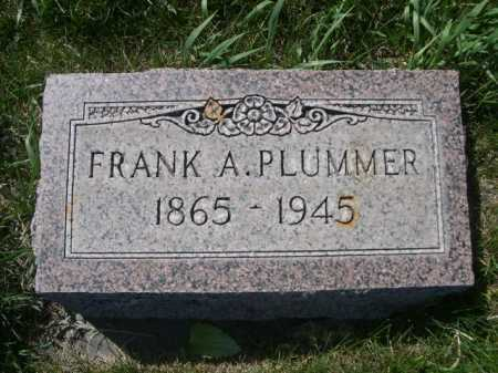 PLUMMER, FRANK A. - Dawes County, Nebraska | FRANK A. PLUMMER - Nebraska Gravestone Photos