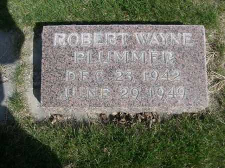 PLUMMER, ROBERT WAYNE - Dawes County, Nebraska | ROBERT WAYNE PLUMMER - Nebraska Gravestone Photos