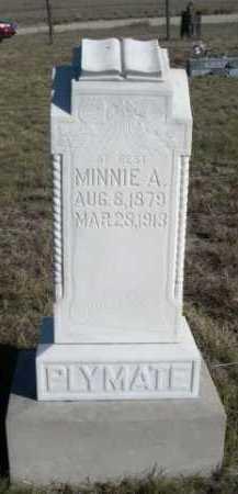PLYMATE, MINNIE A. - Dawes County, Nebraska | MINNIE A. PLYMATE - Nebraska Gravestone Photos