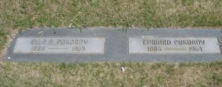 POKORNY, EDWARD - Dawes County, Nebraska | EDWARD POKORNY - Nebraska Gravestone Photos