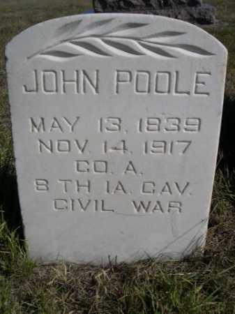 POOLE, JOHN - Dawes County, Nebraska | JOHN POOLE - Nebraska Gravestone Photos
