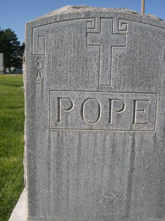 POPE, FAMILY - Dawes County, Nebraska | FAMILY POPE - Nebraska Gravestone Photos