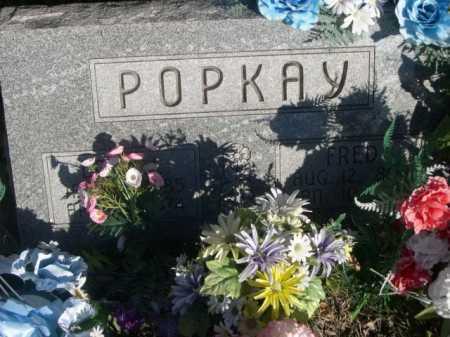 POPKAY, FRED - Dawes County, Nebraska | FRED POPKAY - Nebraska Gravestone Photos