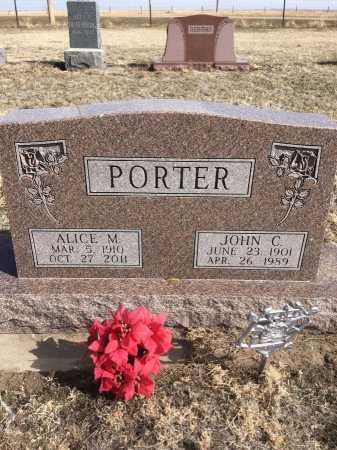 PORTER, JOHN C. - Dawes County, Nebraska | JOHN C. PORTER - Nebraska Gravestone Photos