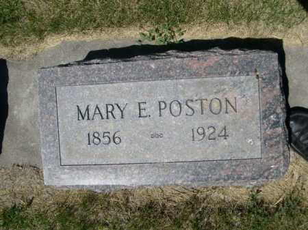 POSTON, MARY E. - Dawes County, Nebraska | MARY E. POSTON - Nebraska Gravestone Photos
