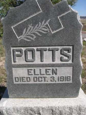 POTTS, ELLEN - Dawes County, Nebraska | ELLEN POTTS - Nebraska Gravestone Photos