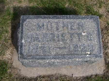 POTTS, HARRIETT C. - Dawes County, Nebraska | HARRIETT C. POTTS - Nebraska Gravestone Photos