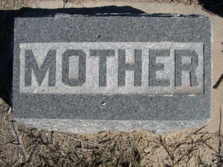 POTTS, MOTHER - Dawes County, Nebraska | MOTHER POTTS - Nebraska Gravestone Photos