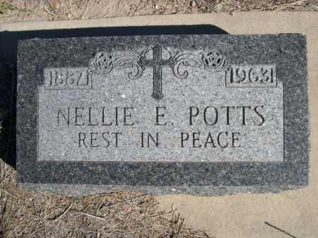 POTTS, NELLIE E. - Dawes County, Nebraska | NELLIE E. POTTS - Nebraska Gravestone Photos