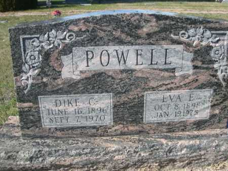 POWELL, EVA E. - Dawes County, Nebraska | EVA E. POWELL - Nebraska Gravestone Photos