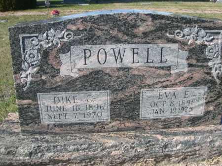 POWELL, EVA E. - Dawes County, Nebraska | EVA E. POWELL - Nebraska Gravestone Photos