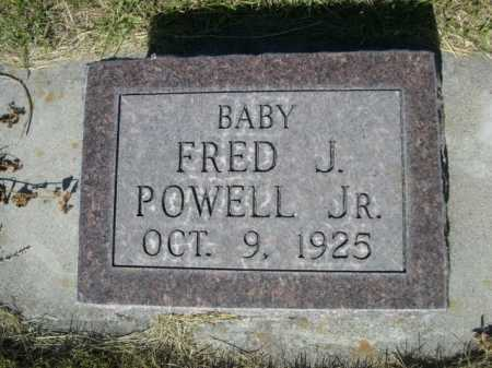 POWELL, FRED J. JR. - Dawes County, Nebraska   FRED J. JR. POWELL - Nebraska Gravestone Photos