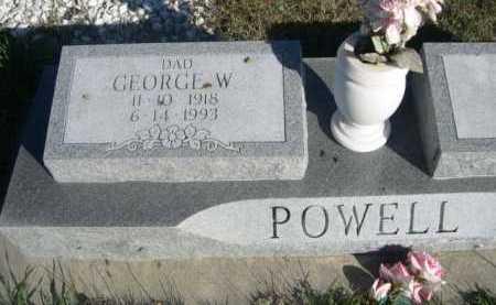 POWELL, GEORGE W. - Dawes County, Nebraska | GEORGE W. POWELL - Nebraska Gravestone Photos