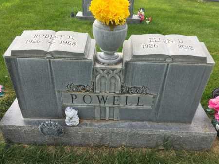 POWELL, ELLEN D. - Dawes County, Nebraska | ELLEN D. POWELL - Nebraska Gravestone Photos