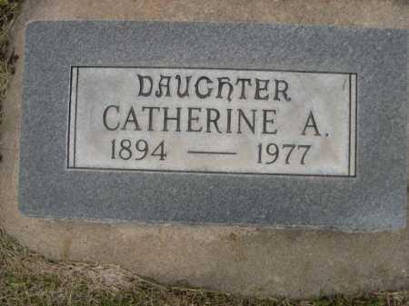 POWER, CATHERINE A. - Dawes County, Nebraska   CATHERINE A. POWER - Nebraska Gravestone Photos