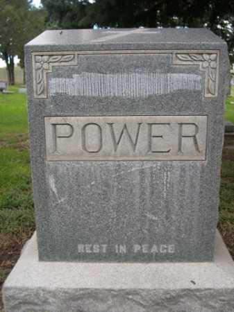 POWER, FAMILY - Dawes County, Nebraska   FAMILY POWER - Nebraska Gravestone Photos