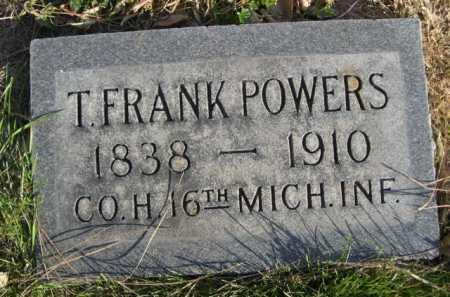 POWERS, T. FRANK - Dawes County, Nebraska | T. FRANK POWERS - Nebraska Gravestone Photos