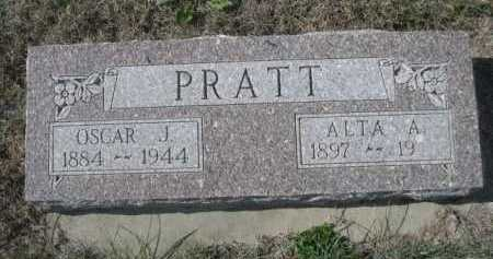 PRATT, ALTA A. - Dawes County, Nebraska | ALTA A. PRATT - Nebraska Gravestone Photos