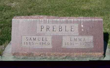 PREBLE, SAMUEL - Dawes County, Nebraska | SAMUEL PREBLE - Nebraska Gravestone Photos