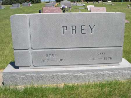 PREY, ROSE - Dawes County, Nebraska | ROSE PREY - Nebraska Gravestone Photos