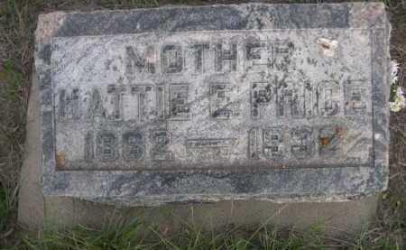PRICE, HATTIE E. - Dawes County, Nebraska   HATTIE E. PRICE - Nebraska Gravestone Photos