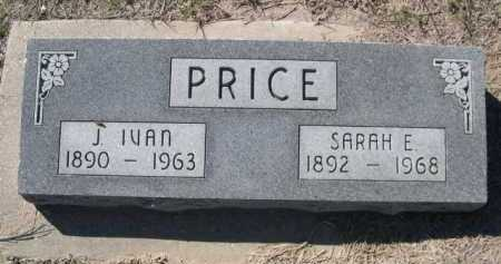 PRICE, J IVAN - Dawes County, Nebraska | J IVAN PRICE - Nebraska Gravestone Photos