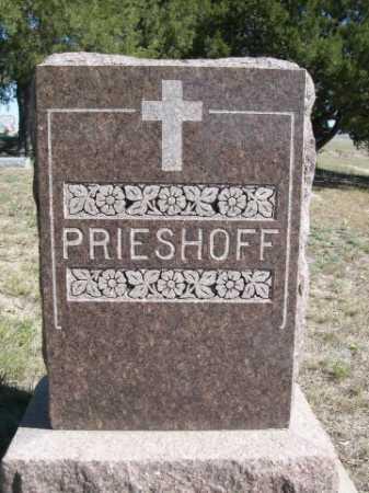 PRIESHOFF, FAMILY - Dawes County, Nebraska   FAMILY PRIESHOFF - Nebraska Gravestone Photos