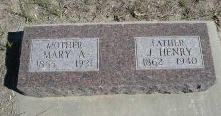 PRIESHOFF, J. HENRY - Dawes County, Nebraska | J. HENRY PRIESHOFF - Nebraska Gravestone Photos
