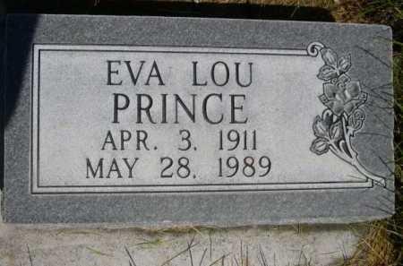 PRINCE, EVA LOU - Dawes County, Nebraska | EVA LOU PRINCE - Nebraska Gravestone Photos