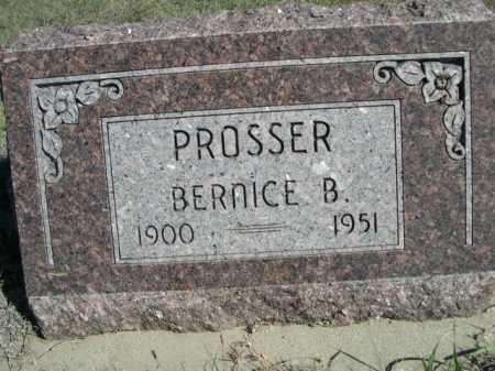 PROSSER, BERNICE B. - Dawes County, Nebraska | BERNICE B. PROSSER - Nebraska Gravestone Photos