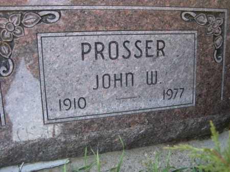 PROSSER, JOHN W. - Dawes County, Nebraska | JOHN W. PROSSER - Nebraska Gravestone Photos