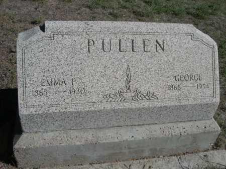 PULLEN, GEORGE - Dawes County, Nebraska | GEORGE PULLEN - Nebraska Gravestone Photos