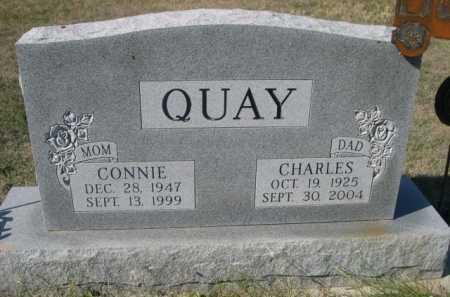 QUAY, CONNIE - Dawes County, Nebraska | CONNIE QUAY - Nebraska Gravestone Photos