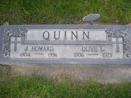 QUINN, J. HOWARD - Dawes County, Nebraska | J. HOWARD QUINN - Nebraska Gravestone Photos
