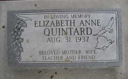 QUINTARD, ELIZABETH ANNE - Dawes County, Nebraska   ELIZABETH ANNE QUINTARD - Nebraska Gravestone Photos
