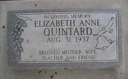 QUINTARD, ELIZABETH ANNE - Dawes County, Nebraska | ELIZABETH ANNE QUINTARD - Nebraska Gravestone Photos