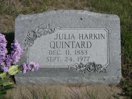 QUINTARD, JULIA - Dawes County, Nebraska | JULIA QUINTARD - Nebraska Gravestone Photos