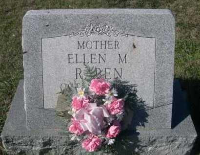 RABEN, ELLEN M. - Dawes County, Nebraska | ELLEN M. RABEN - Nebraska Gravestone Photos