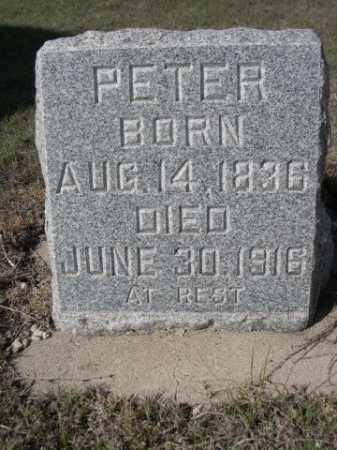 RABEN, PETER - Dawes County, Nebraska | PETER RABEN - Nebraska Gravestone Photos