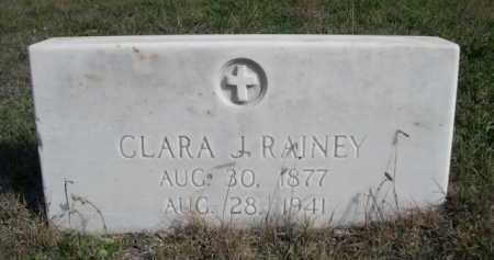 RAINEY, CLARA J. - Dawes County, Nebraska | CLARA J. RAINEY - Nebraska Gravestone Photos