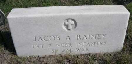 RAINEY, JACOB A. - Dawes County, Nebraska | JACOB A. RAINEY - Nebraska Gravestone Photos