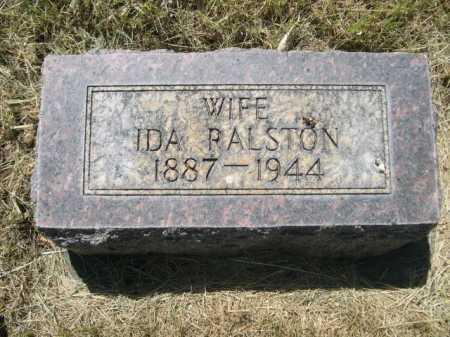 RALSTON, IDA - Dawes County, Nebraska | IDA RALSTON - Nebraska Gravestone Photos
