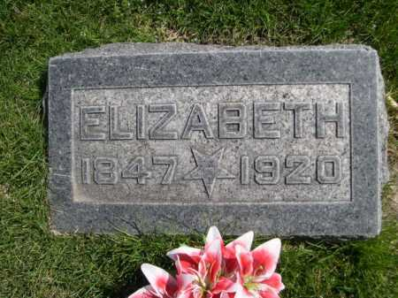 RANDALL, ELIZABETH - Dawes County, Nebraska | ELIZABETH RANDALL - Nebraska Gravestone Photos