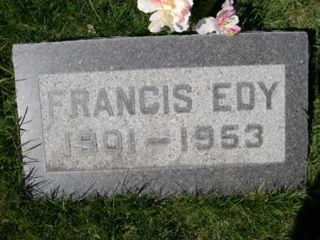 RANDALL, FRANCIS EDY - Dawes County, Nebraska   FRANCIS EDY RANDALL - Nebraska Gravestone Photos