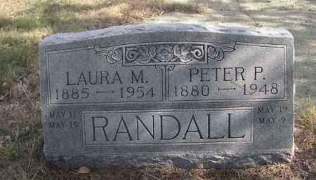 RANDALL, PETER P. - Dawes County, Nebraska | PETER P. RANDALL - Nebraska Gravestone Photos