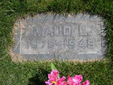 RANDALL, MAUD L. - Dawes County, Nebraska | MAUD L. RANDALL - Nebraska Gravestone Photos