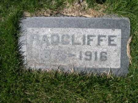 RANDALL, RADCLIFFE - Dawes County, Nebraska | RADCLIFFE RANDALL - Nebraska Gravestone Photos