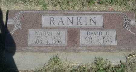 RANKIN, DAVID C. - Dawes County, Nebraska | DAVID C. RANKIN - Nebraska Gravestone Photos