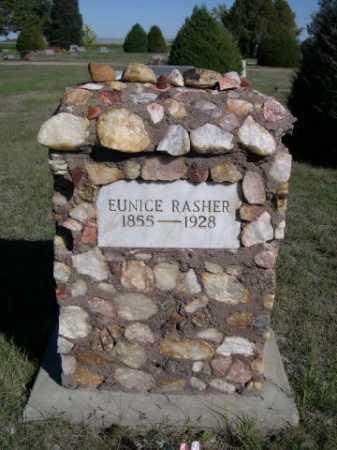 RASHER, EUNICE - Dawes County, Nebraska | EUNICE RASHER - Nebraska Gravestone Photos